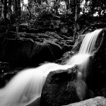Wasserläufe im Secret Buddha Garden