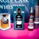 Ein Auslage eines der vielen Whiskeyshop