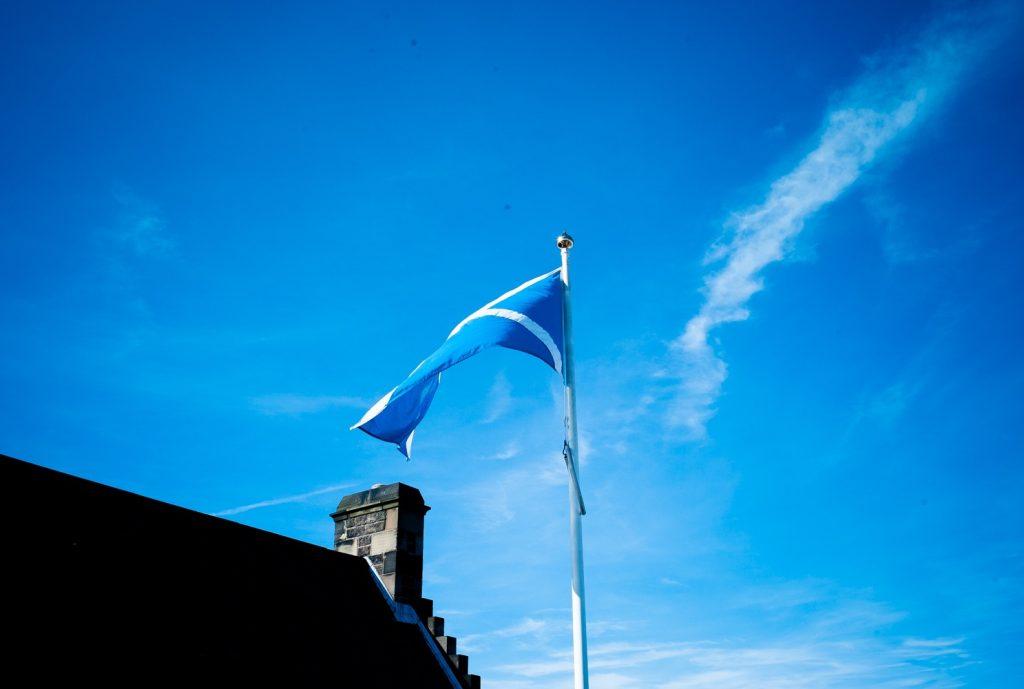 Die Schottische Flagge