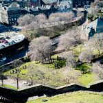Ausblick vom Edinburgh Castle