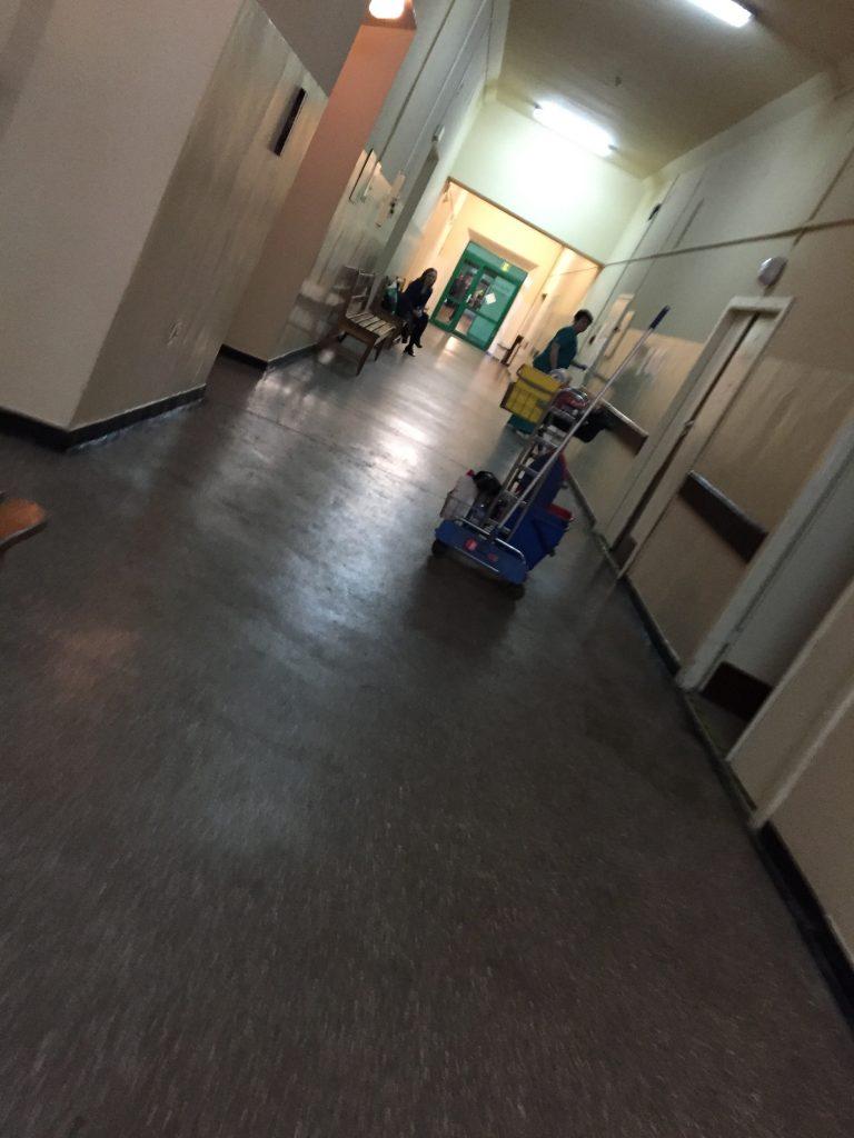 Flur des Krankenhauses