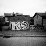 Ein Graffiti eines Fussballvereines