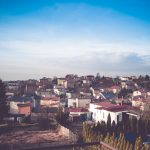 Mein Dorf von meinem Balkan aus